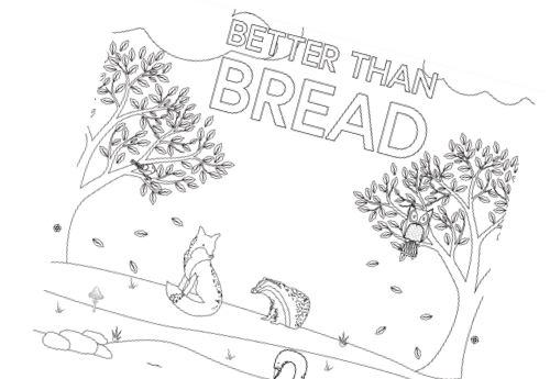 Better Than Bread - Colour sheet